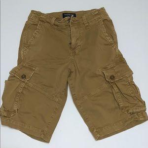 American Eagle Men's Extreme Flex Tan Shorts, 26
